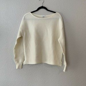 14th & Union White NWT Oversized Pullover Sweater